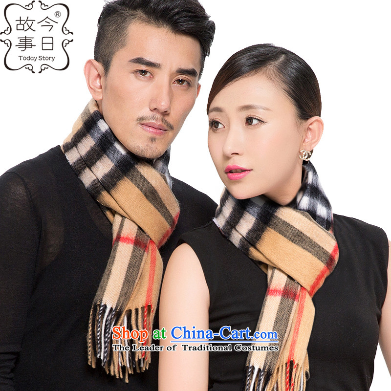 Today story Wool Velvet Plaid scarves mixed autumn and winter, couples, and won a shawlJ4170 versionand color - men and women, universal