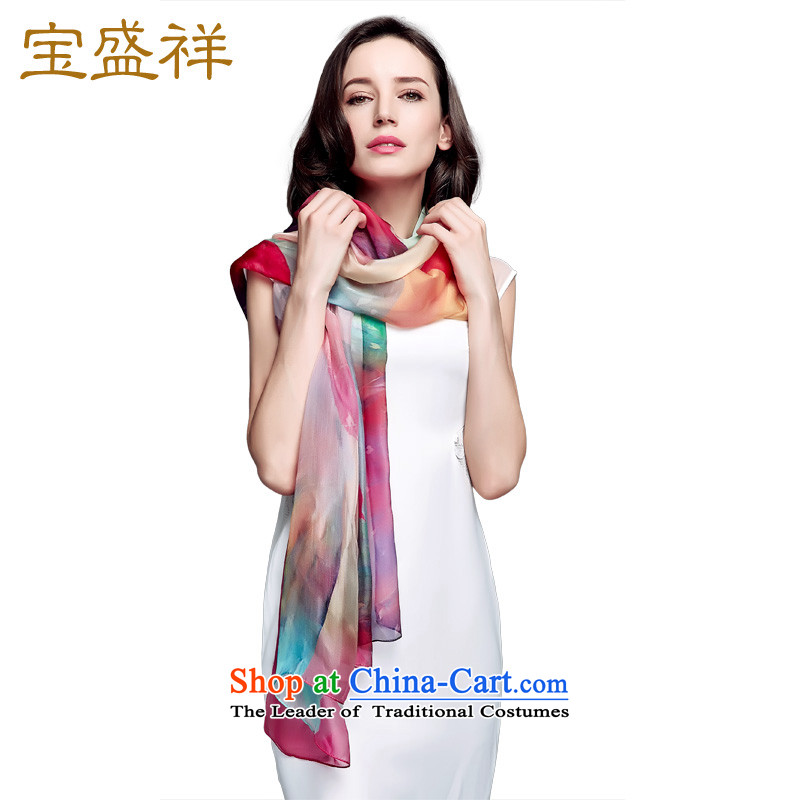 Eric blossom silk scarf herbs extract spring and autumn scarves Ms. silk shawls聽s9126 large聽colorful
