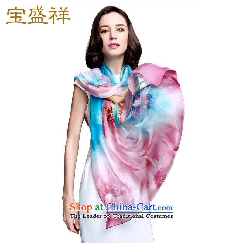 Ms. Cheung blossom sauna silk scarves spring and fall of snow spinning towel herbs extract scarf sunscreen large shawl聽 s9128聽autumn to dim