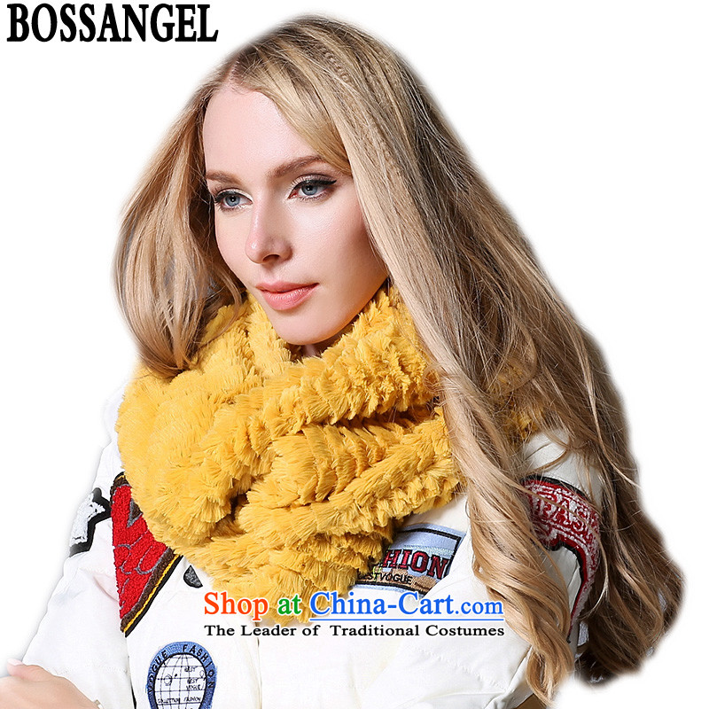 Lord, Yan Ms. scarves autumn and winter thick double warm-Wai Shing S2016 yellow