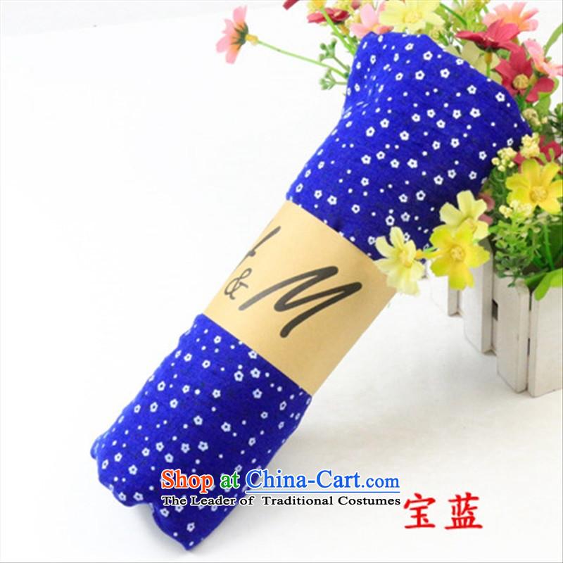 A201 saika scarf saika cotton linen scarf emerald -5_ stamp