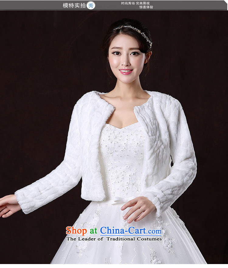 2015 new marriages autumn and winter wedding dress shawl thick long-sleeved large warm white jacket pictures shawls gross, prices, brand platters! The elections are supplied in the national character of distribution, so action, buy now enjoy more preferential! As soon as possible.