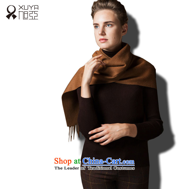 Ya ripple scarf stylish cashmere Western Wind autumn and winter warm colors and female_