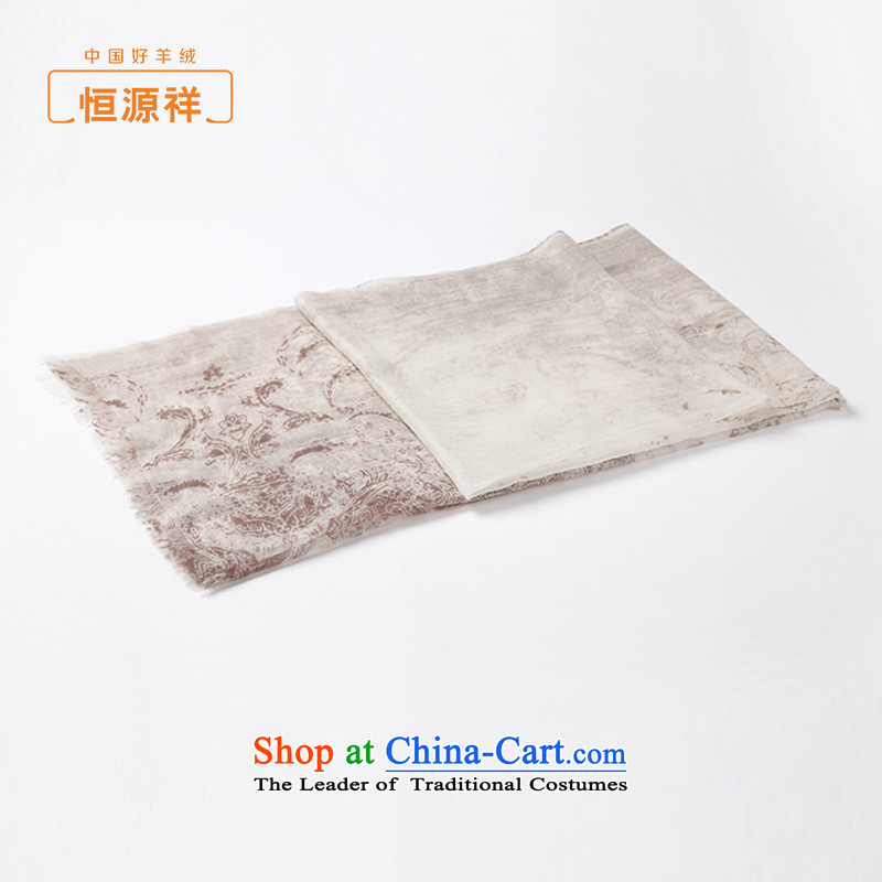 Hengyuan Cheung pashmina spring and fall new products, pure cashmere shawls scarves stamp gradient long thin silk scarf and color.