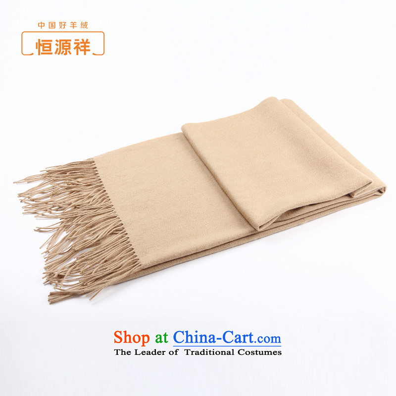 Hengyuan Cheung woolen shawl men and women of autumn and winter New Pure Wool scarf summer air-conditioning shawl two super long thick and color.
