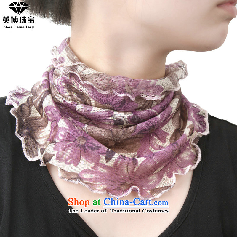 The British bossant silk scarves false collars chokeholds Korean small square cloths scarves silk a Fall Winter kit and Ms. silk scarfA