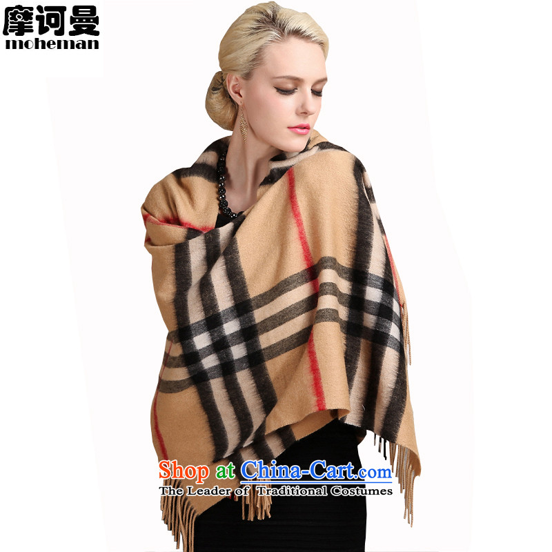The Cayman British Maha pure Cashmere scarf men and women latticed taxi warm Fancy Scarf of dual-use and color /190x70