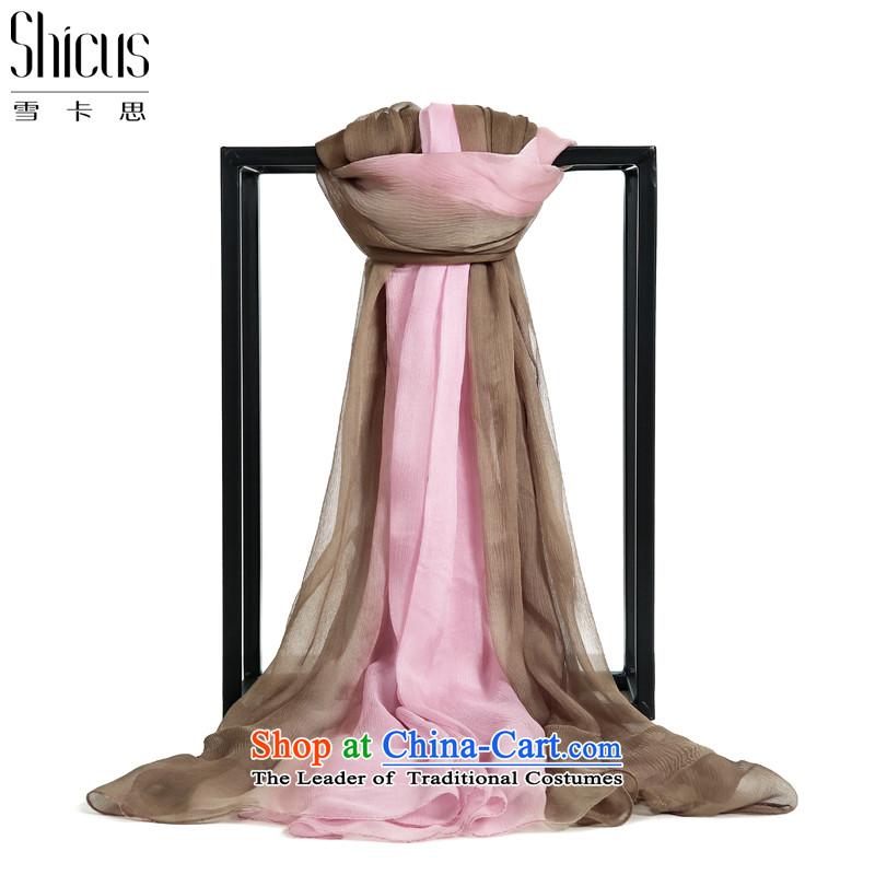 Ms. ciguatoxin silk scarf long herbs extract silk scarf125*180cm DANEWIN BLOSSOM