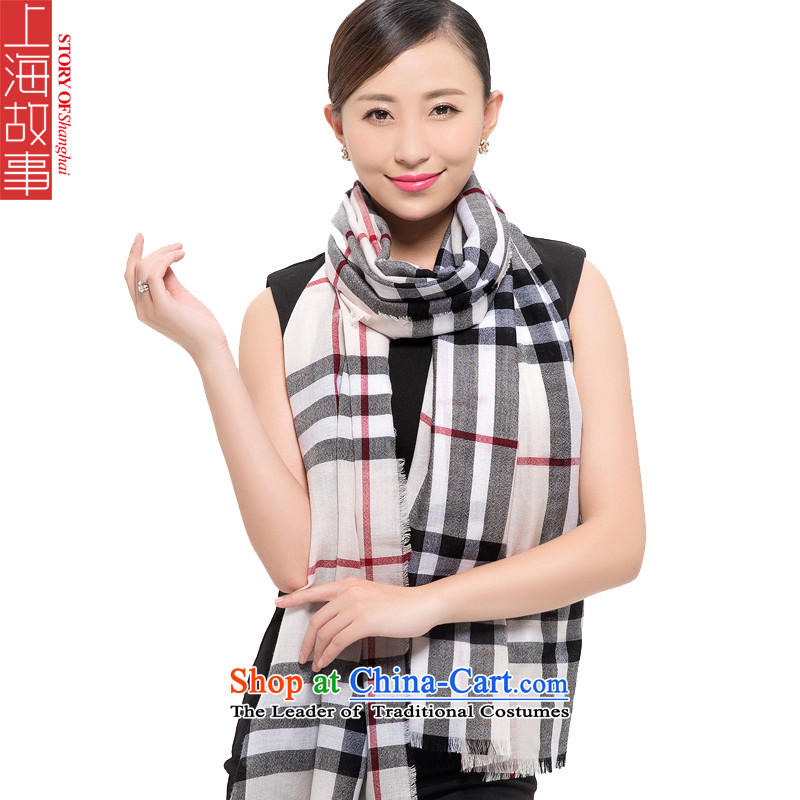 Shanghai Story2015 New 80 extralong scarf women a warm winter and the dyeing 178065, White