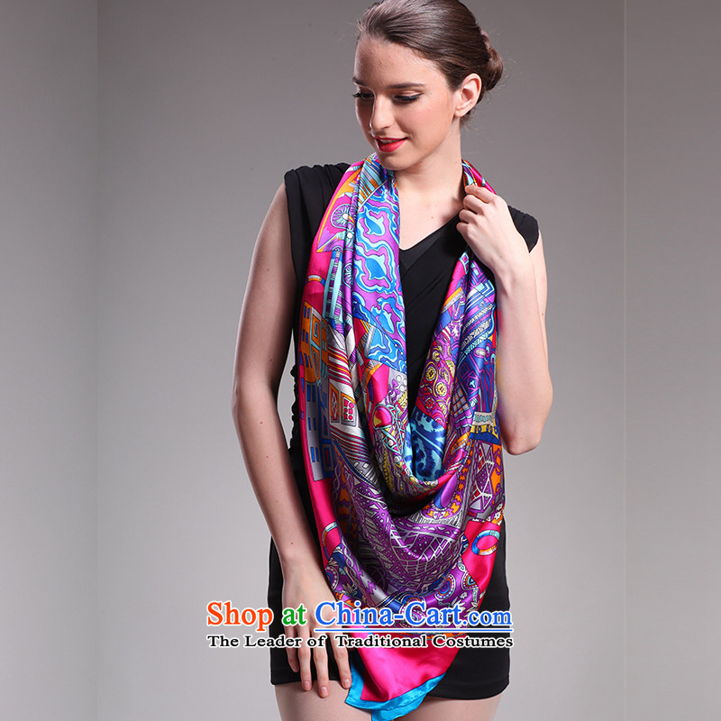 Hengyuan Cheung silk scarf female long spring and autumn 2015 upscale silk scarfs silk scarf herbs extract masks in thick towel051602 and classy Fairview Park Carnival - the red