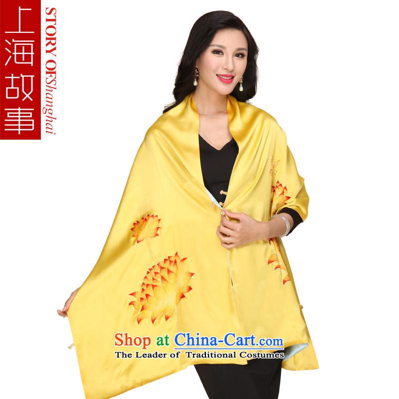 Shanghai Story silk shawls hand embroidery