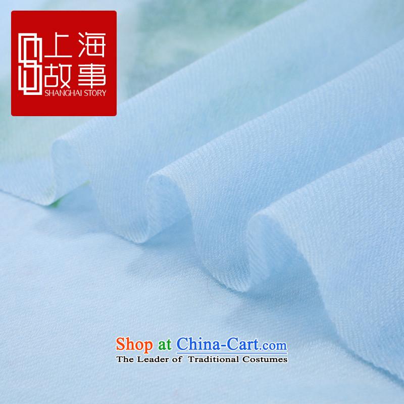Shanghai Story counters genuine autumn and winter on new stylish /pashmina shawl long fleece scarf alone alone - orange toner