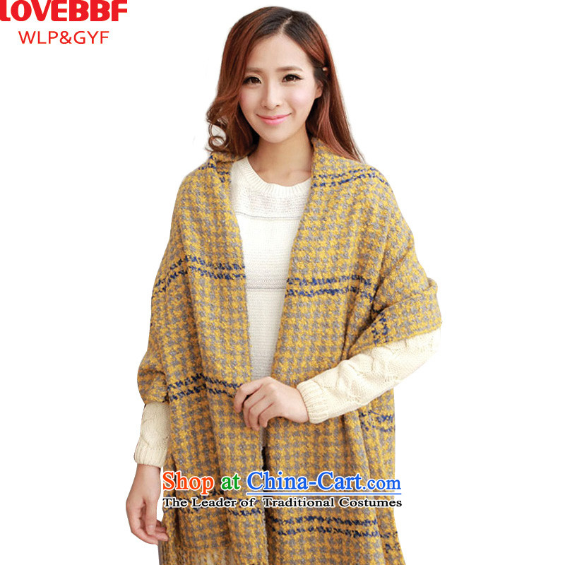 The new president her knitting LOVEBBF scarf of England College wind a spell checker color flow su shawlWJ-09 WJ-09- yellow are code