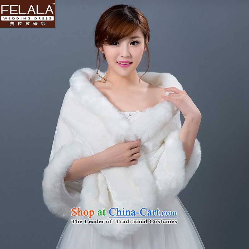 Ferrara autumn and winter wedding dresses accessories gross shawl, warm marriages thick shawl
