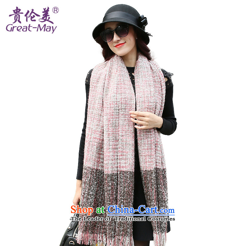 The US military winter female Korean fashion scarves dyes process with two shawls scarves knitted warm winter and autumn scarf female WJ0128X toner lady Suit