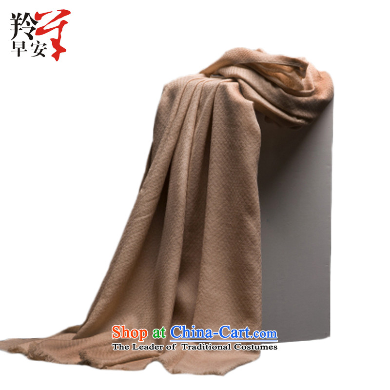 The Gazelle Good Morning pure color woolen scarves warm Autumn and Winter Song -