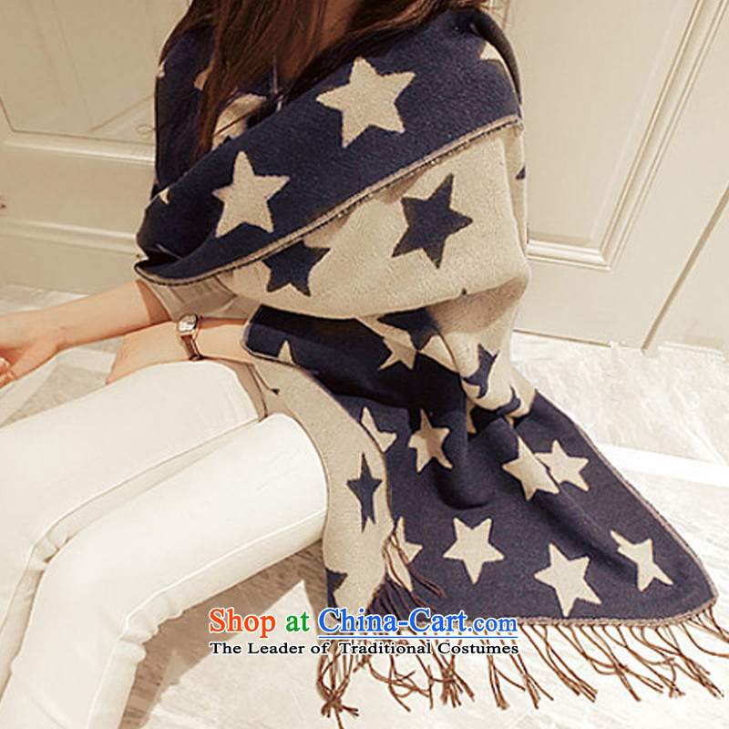 Taoyeeautumn and winter warm Thick Long, Ms. shawl new Korean fashion 2.50 stars pashmina picture color emulation