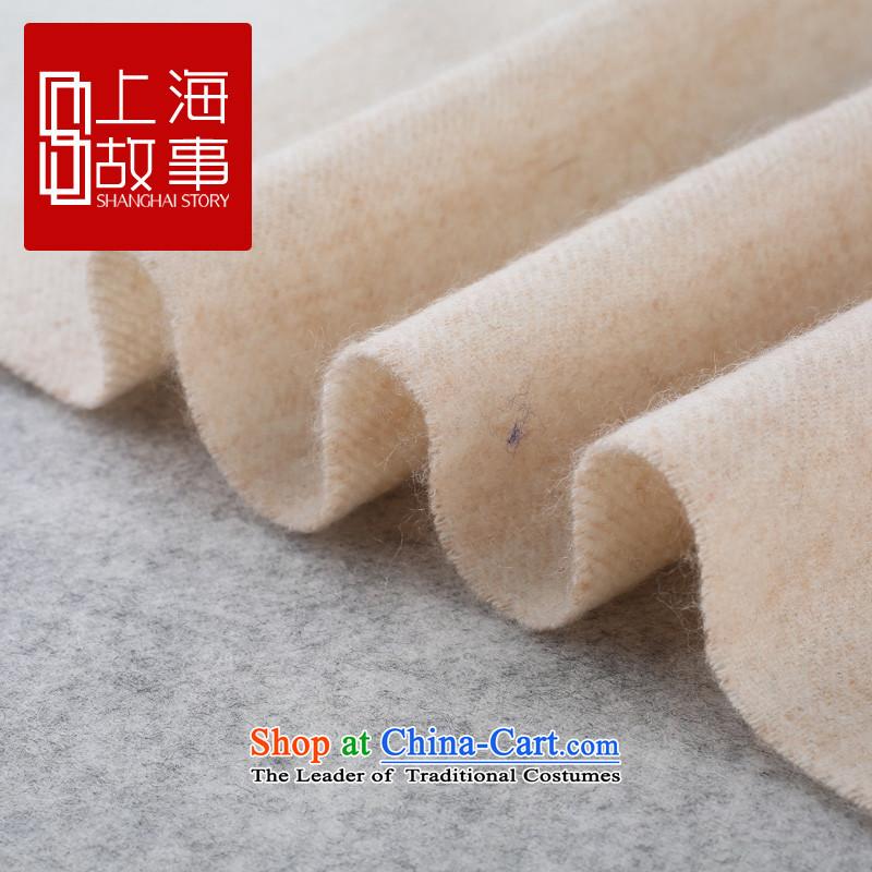 Shanghai Story counters genuine autumn and winter on new stylish /pashmina shawl long woolen cravat Winter Sonata Winter Sonata - Blue & Gray