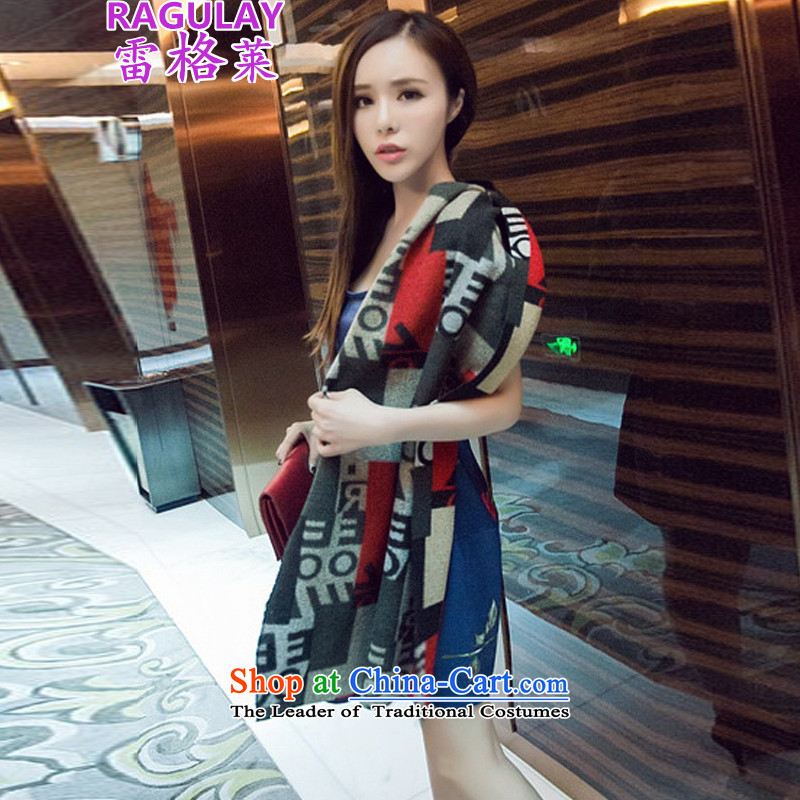 Regle聽        2015 autumn and winter new Korean Sleek and versatile shawl wool scarf 372 color pictures?