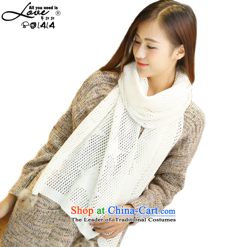 Bolala scarf autumn and winter new products, Korean engraving scarves stylish with Knitting scarves two star/Shawls rabbit hair ball white scarf engraving petokraka