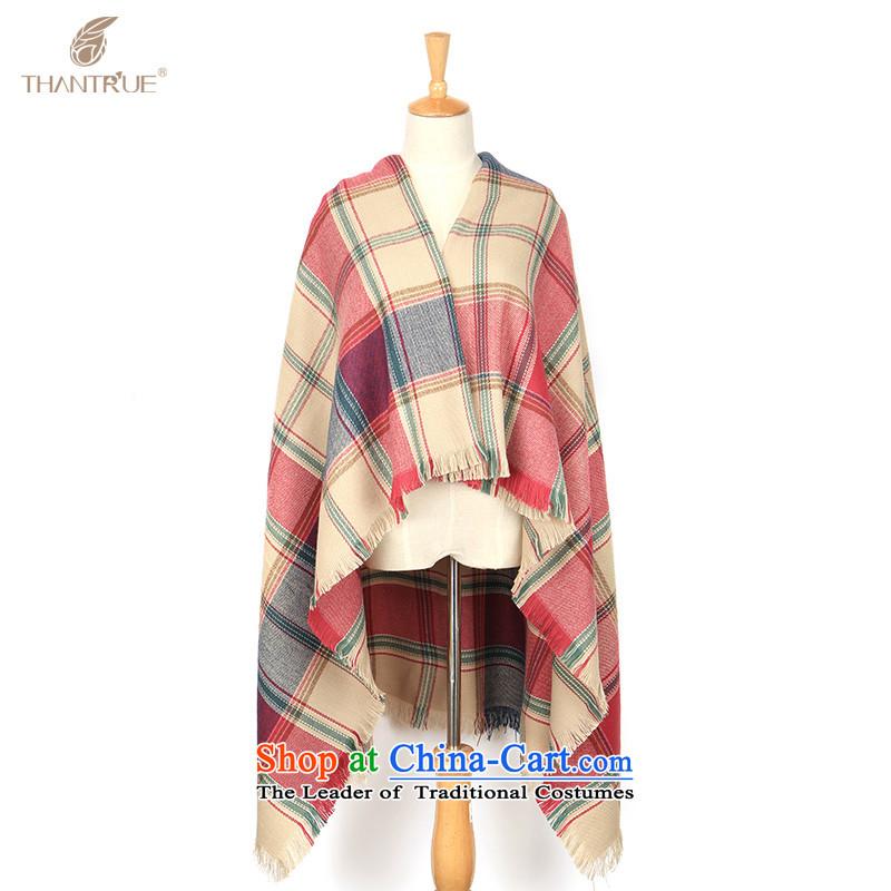 Enjoy true autumn and winter thantrue women extralong shawl, english style ribbed scarf W029 rose plaid