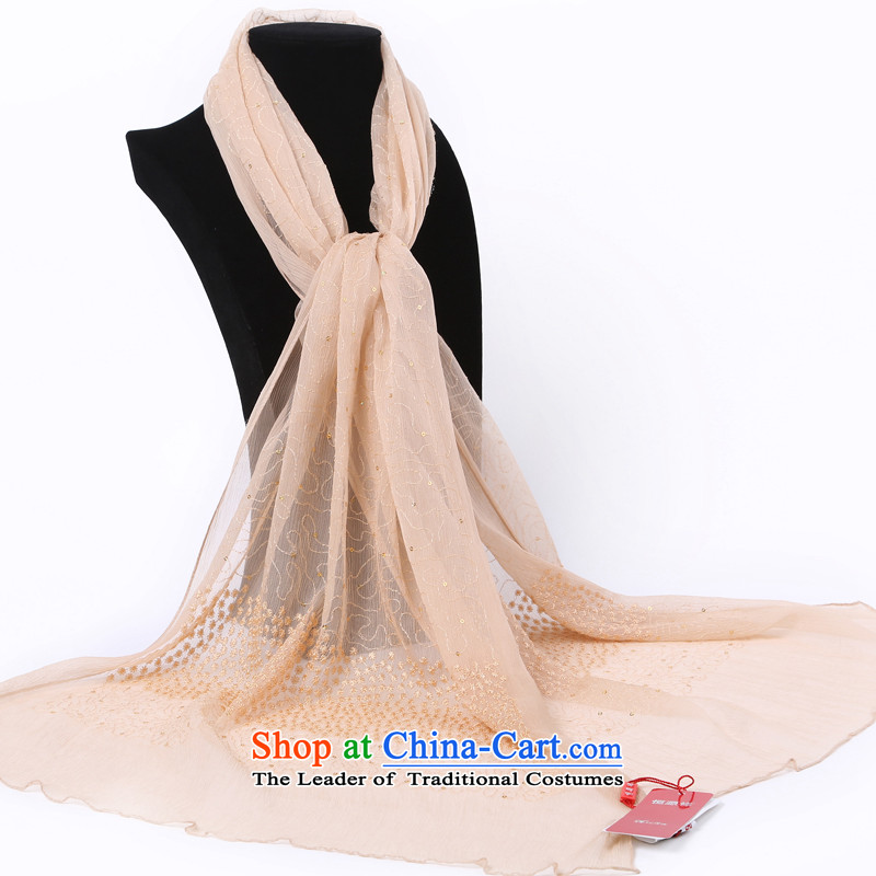 Hang Cheung New Source herbs extract super star silk scarves 8041 herbs extract (Boxset) Khaki