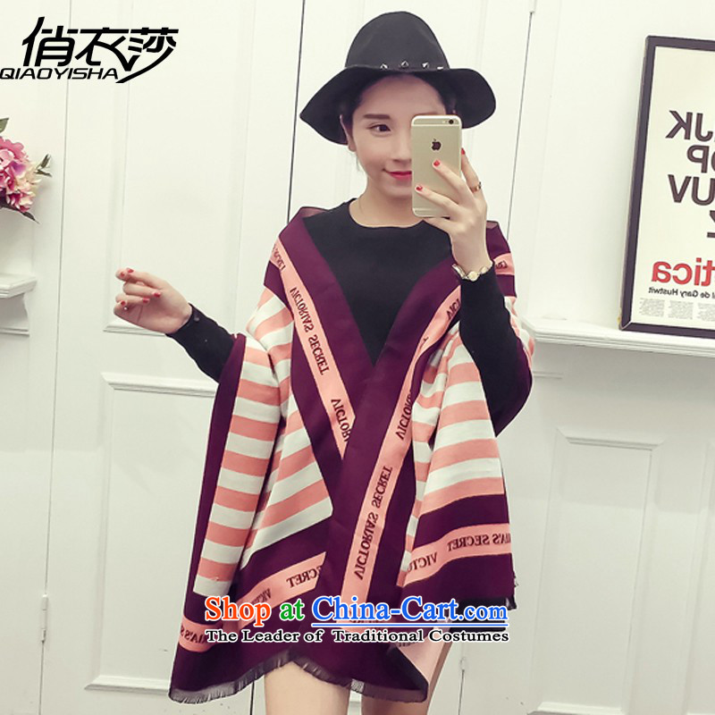 For Europe and the autumn and winter clothing Windsor new emulation pashmina female dry stylish letters stamp shawl QA15484313main map color190*65cm
