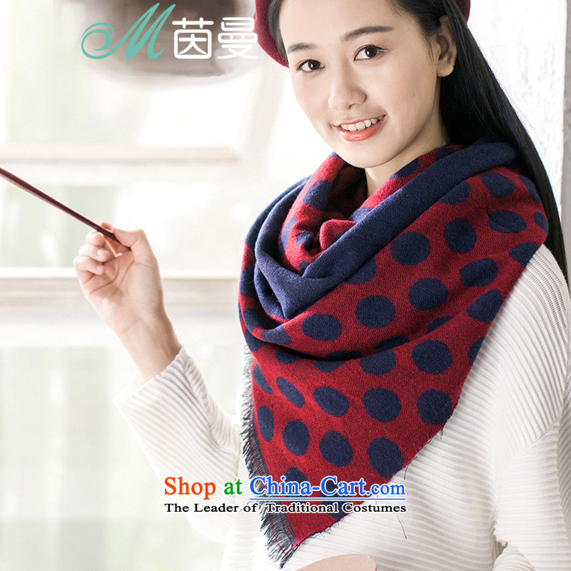 Athena Chu聽new autumn 2015 Cayman thin scarf arts just elections 854140214- wine red wine red