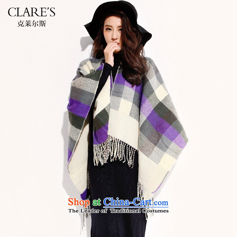 The Clare Europe CLARE'S/ aristocratic 2015 Winter New Fancy Scarf two segments of the wild flow with su shawl scarf women tides code