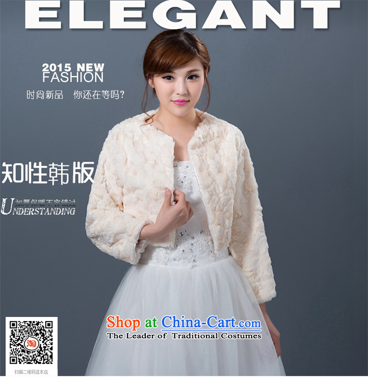 New autumn and winter wedding shawl marriages bridesmaid dress jacket thickened shawls gross champagne color pictures, prices, brand platters! The elections are supplied in the national character of distribution, so action, buy now enjoy more preferential! As soon as possible.