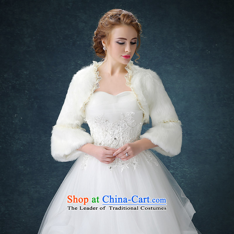 Seal the new president jiang wedding dress shawl winter marriages shawl bridesmaid gross shawl thick warm white white lace edge
