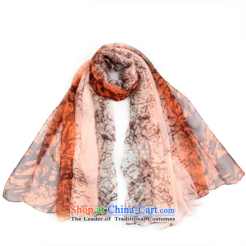 Shanghai Story women fatal love silk scarves stylish wide ultra long herbs extract sunscreen silk scarf shawl 158032 beach towel orange pink, Shanghai Story STORY & shanghai) , , , shopping on the Internet