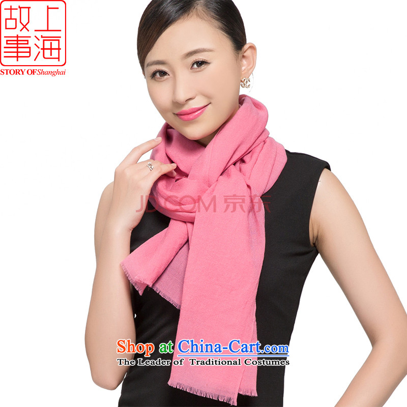 Shanghai Story 2015 new support of 70-color woolen scarves, warm winter and stylish ultra-long shawl 169019 rubber Powder