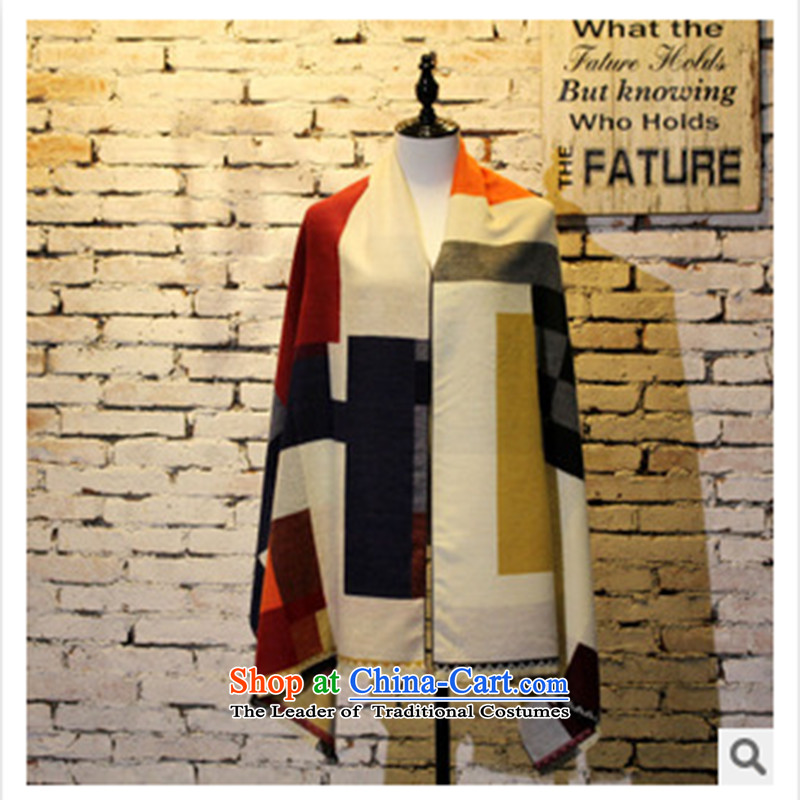 2015 Autumn and winter new shawl western typhoon season, extra-long warm pashmina spell color