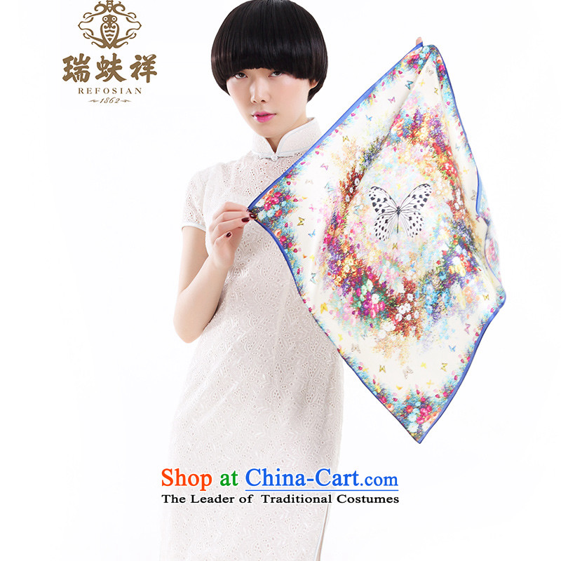 Thus, Eric Li silk scarfs 2015 New Ms. wild herbs extract silk scarf small towel Butterfly Dance