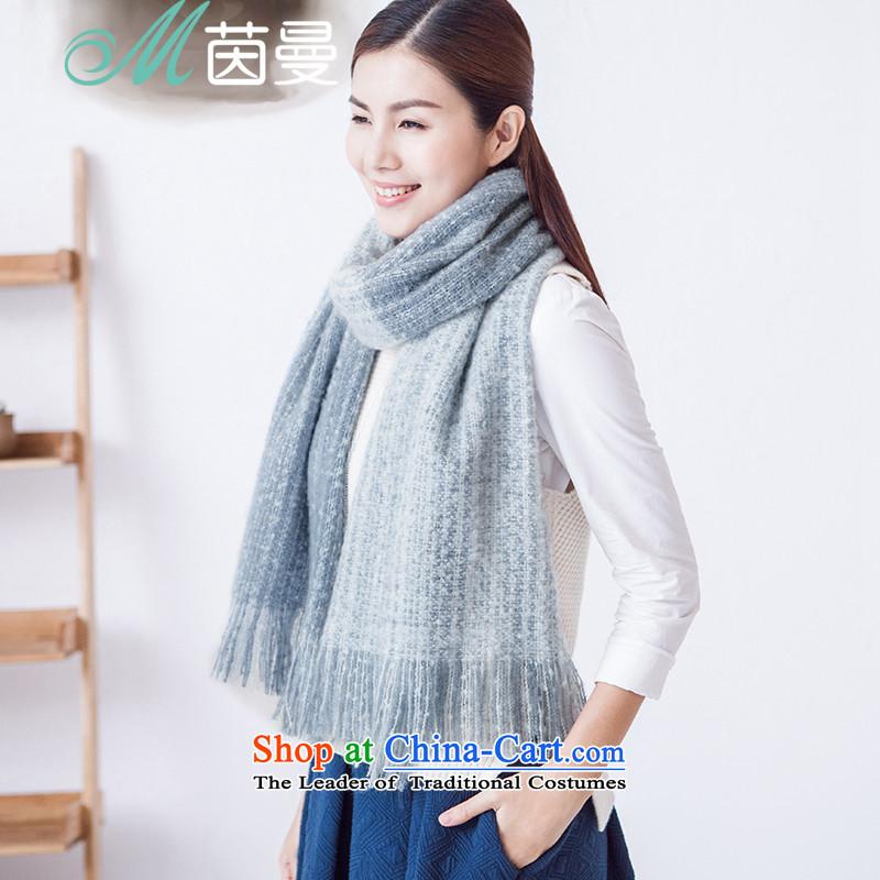 Athena Chu Cayman2015 autumn and winter new arts stream su decor is soft and comfortable wild female scarf 854140261 Blue Sky Blue