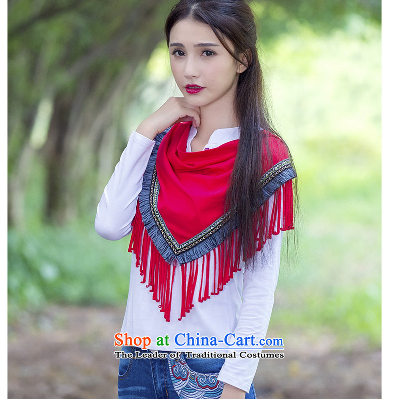 Hiv is tearing silk characteristics fall 2015 accessories installed new national su webbing arts scarf Fancy Scarf red are code