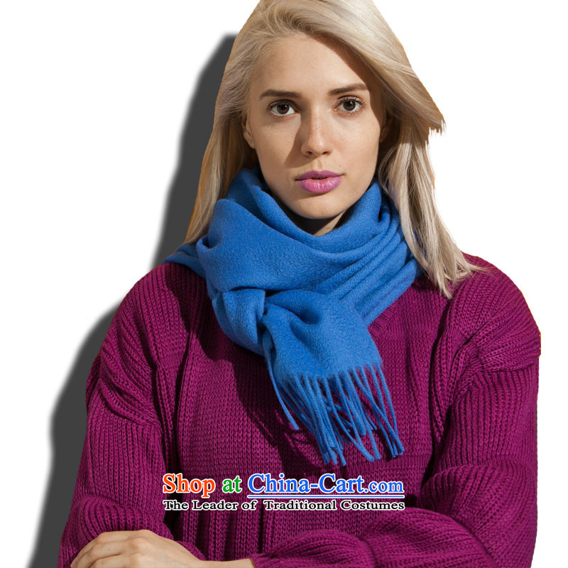 Arctic Coarse wool spinning wool scarves, lint-free聽45_-m913262 blue