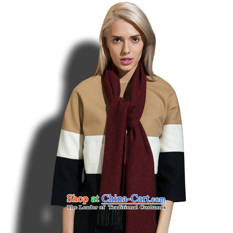 Arctic Coarse wool spinning wool scarves, lint-free red聽46_-913362