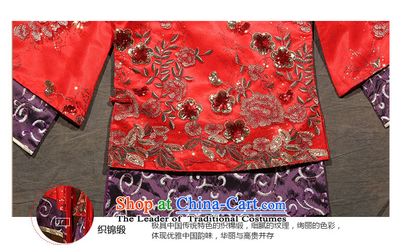 You do not marry non-Sau Wo Service 2015 The Dragon and the use of the new winter red Chinese wedding dresses cheongsam wedding gown bride RED聽M picture, prices, brand platters! The elections are supplied in the national character of distribution, so action, buy now enjoy more preferential! As soon as possible.