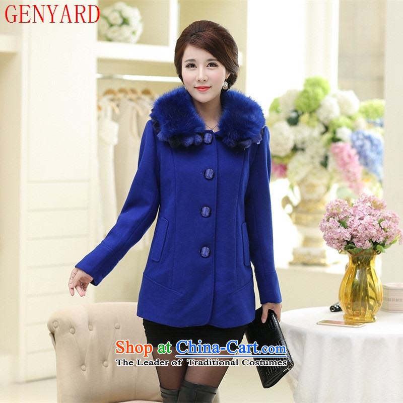The fall of new, GENYARD2015 elderly mother with Gross Gross for leisure? jacket coat-燲L