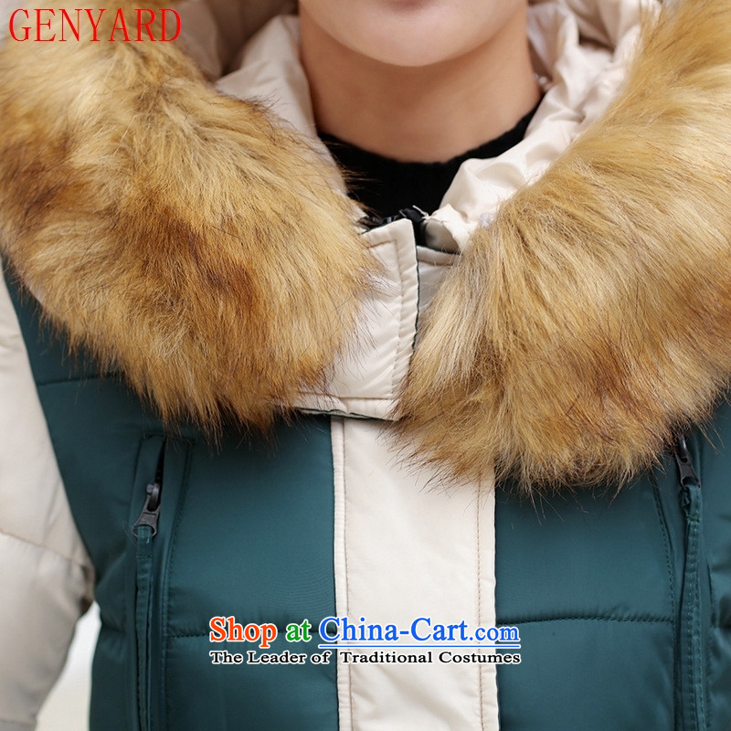 The elderly in the autumn and winter GENYARD2015 in Long Hoodie MOM pack for comfortable cotton wool black聽XXL,GENYARD,,, shopping on the Internet