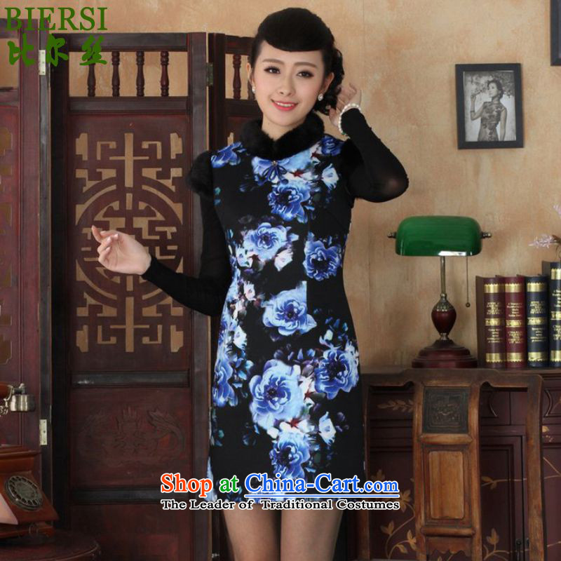 The Bill was a trendy new for women retro ethnic Chinese improved short, Sau San Tong replacing old winter qipao _Y0028_ figure聽L