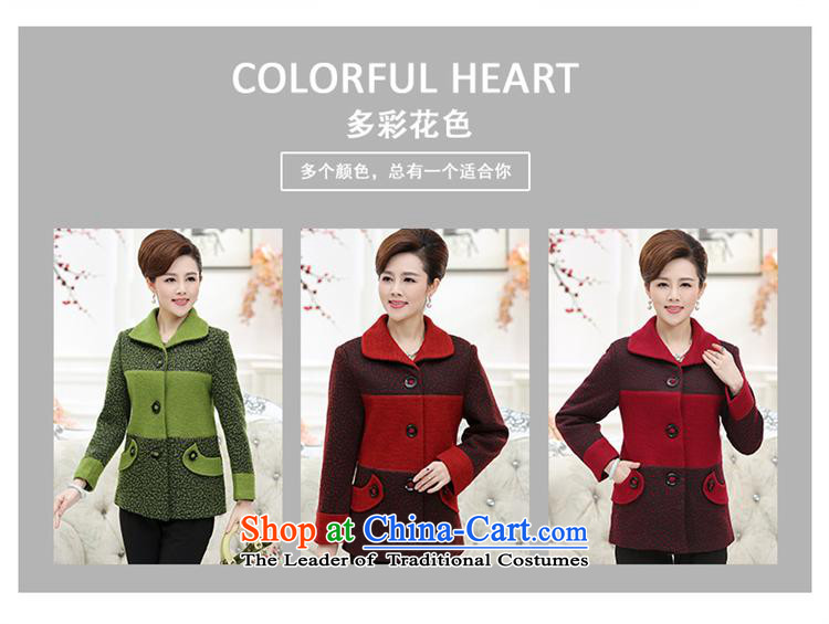 September Girl Store* New Older Women's gross? put new mother coat) and older persons in the wool? Jacket Code Red XXXL picture, prices, brand platters! The elections are supplied in the national character of distribution, so action, buy now enjoy more preferential! As soon as possible.