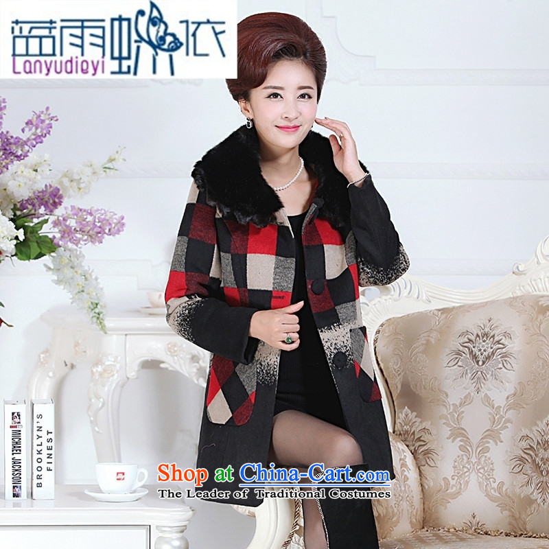 September Girl Store * new mother in long double nagymaros collar workers in large segments of the older temperament gross Jacket Card? In Color�XXXL