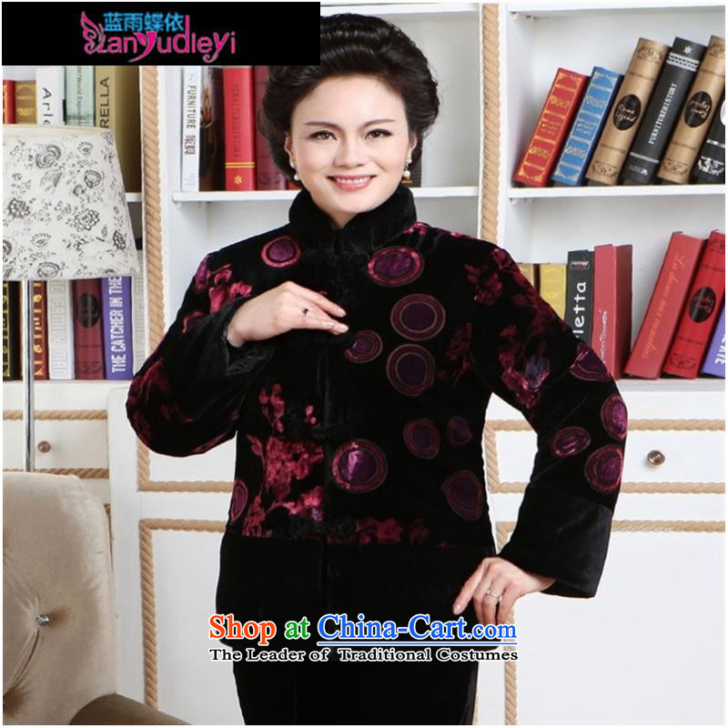 September female boutiques in older MOM pack _ 2011 Fall_Winter Collections New really cotton shirt red cotton wool M