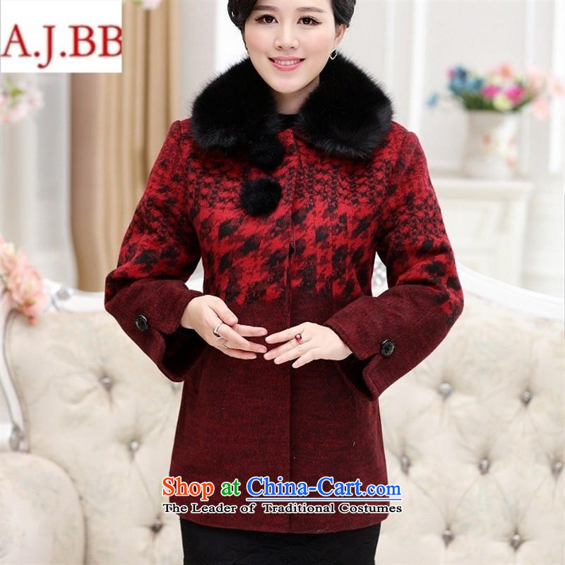 Orange Tysan *2015 in older women thick hair for thousands of birds of stamp single row detained mothers with gross 4XL,A.J.BB,,, red jacket? Online Shopping