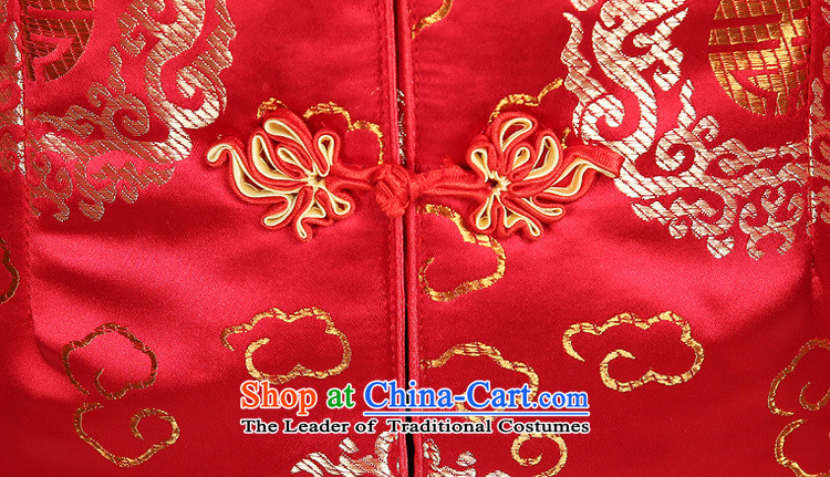 Ya-ting store. Ms. Tang dynasty older Tang jackets mother replacing winter Tang blouses elderly Chinese Tang dynasty winter clothing red XL Photo, prices, brand platters! The elections are supplied in the national character of distribution, so action, buy now enjoy more preferential! As soon as possible.