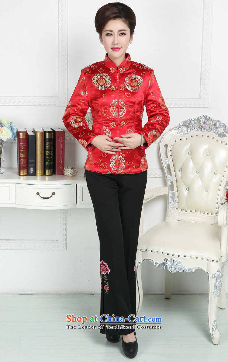 Ms Rebecca Pun and fashion boutiques in older Ms. Tang Dynasty Tang jackets mother replacing winter Tang blouses elderly Tang Dynasty Chinese winter clothing purple 5XL picture, prices, brand platters! The elections are supplied in the national character of distribution, so action, buy now enjoy more preferential! As soon as possible.