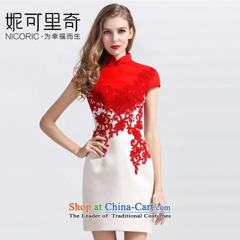 Kidman, 2015 new bride cheongsam dress and the relatively short time, improved bows services qipao燲L
